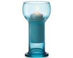 Küünlajalg klaasist Lucilla Sinine DB120