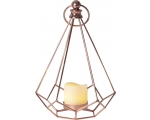 Lantern EDGE copper 10 warm white LED IP20