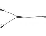 System Decor hargmikjuhe. Pikkus 0,5m, 1 sisend, 2 väljundit IP44