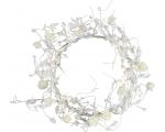 Rosary White, with 24 LED lights d. 21 cm, 230V-24V DC, IP20