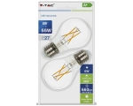 LED lamp 2-pakk E27/6W/600lm/Filament A60
