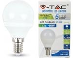 LED lamp E14/5,5W/470lm/Globe