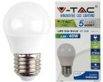 LED lamp E27/5,5W/470lm/Globe