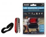 LED hoiatustuli, punane