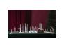 Advendi küünlajalg Birdy, 43x45x8cm, 5 LED-tuld, 230V, IP20