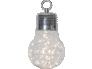 Dekoratsioon Bulby valge, 30 LED, patareitoide, sisetingimustesse, IP20