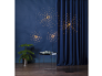 """Dekoratsioon """"Ilutulestik"""" jalal. 200 LED tuld, soe valge, l50x130cm"""