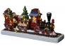 Jõuluvana rong 16 LED, 30x15cm, patareitoide (3xAA, mitte kaasas), IP20