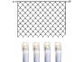 Valgusvõrk System Decor, 2x1,5m, 100 LED, läbipaistev kaabel, IP44